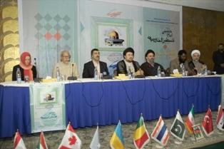 """مؤتمر دراسة الأسس الفقهية لسماحة الإمام الخميني(رض) """"دور الزمان والمكان في الاجتهاد"""""""