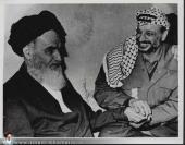 الامام الخميني و ياسر عرفات