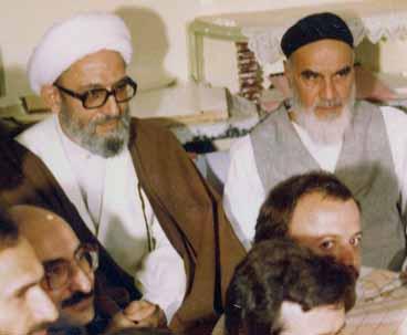 قائد الثورة:الشيخ مهدوي كني كان من الاوفياء الصادقين للامام الخميني