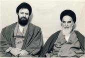 الامام الخميني و السيد أحمد