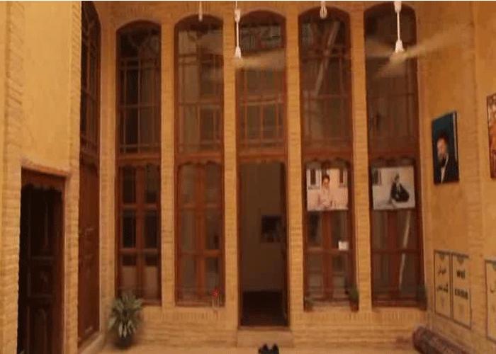 منزل سماحة الإمام الخميني في النجف الأشرف بعد إعادة إعماره