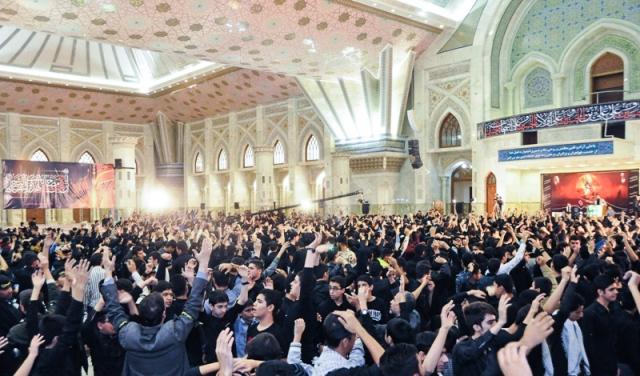 اجتماع الاشبال العاشورائيين في مرقد الامام الخميني