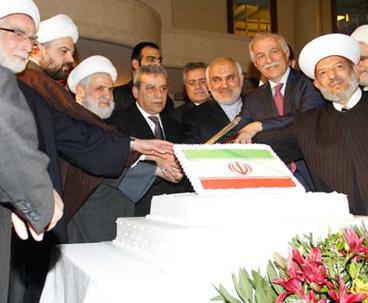 احياء  الذكرى 36 لإنتصار الثورة الاسلامية في عدد من الدول