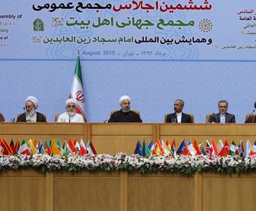 الثورة الاسلامية بقيادة الامام الخميني أثبتت بطلان مزاعم قوى الشرق والغرب