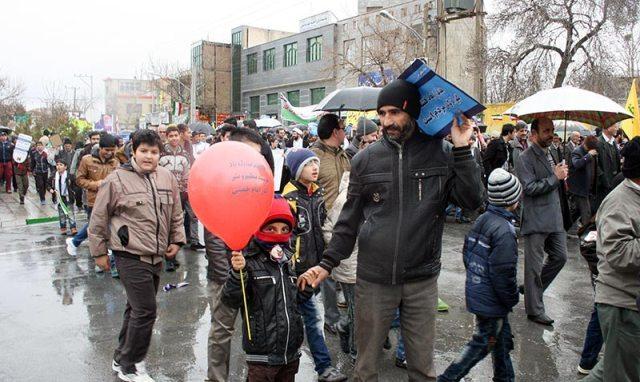 مسيرات انتصار الثورة في خمين