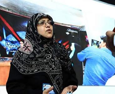 مسؤولة عراقية:الامام الخميني منحنا الشجاعة لمواجهة الظلم