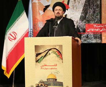 اقتلاع اسرائيل من جذورها هدف رئيسي للثورة الاسلامية