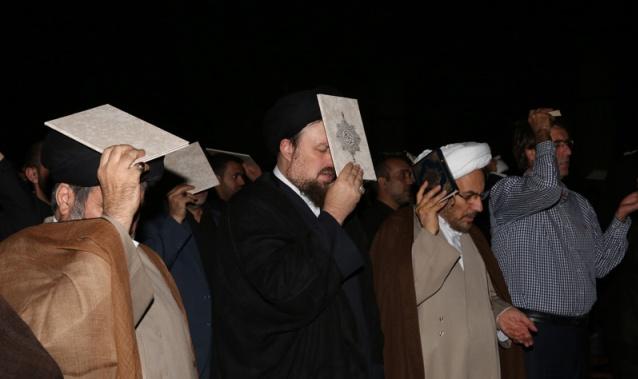 مراسم احياء ليالي القدر في مرقد الامام الخميني قدس سره (3)