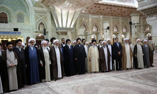 أعضاء مجلس خبراء القيادة يزورون مرقد الامام الخميني قدس سره
