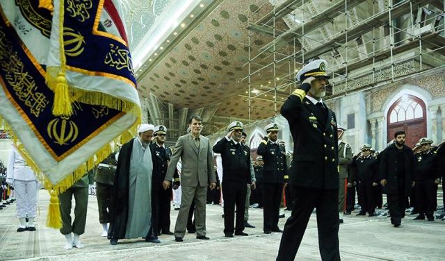 قيادة القوة البحرية تجدد العهد مع مبادئ الامام الخميني