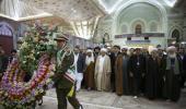 عدد من علماء العالم الاسلامي يزورون مرقد الامام الراحل و يلتقون السيد حسن الخميني
