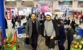 مشاركة مؤسسة تنظيم و نشر تراث الامام الخميني في معرض الصحافة