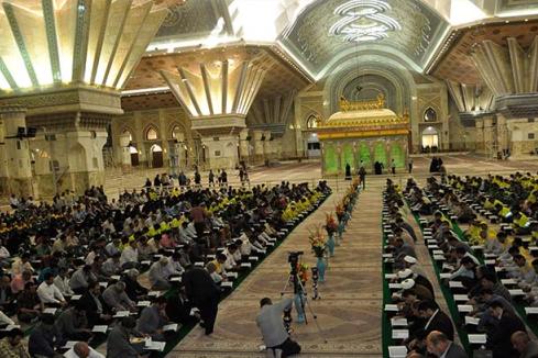حفل تلاوة القرآن في مرقد الامام الخميني