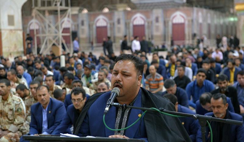 مراسم  زيارة عاشوراء في مرقد الامام الخميني قدس سره الشريف