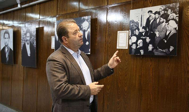 رئيس بلدية مال تبه في اسطنبول يزور جماران