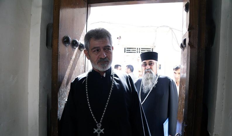 الاقليات الدينية تزور بيت الامام الخميني في قم المقدسة