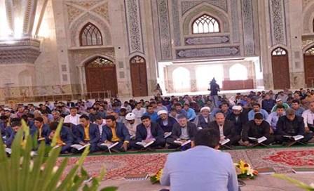 حفل تلاوة القرآن في مرقد الامام الخميني في شهر رمضان