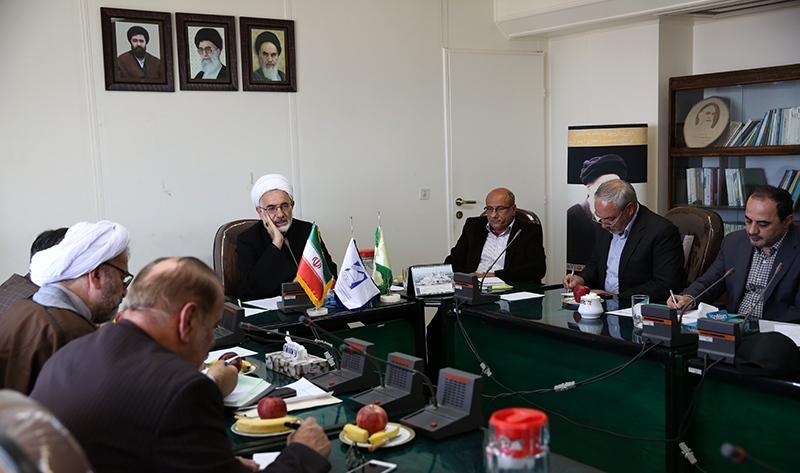عقد الاجتماع الاول للجنة الدولية لتكريم ذكرى الامام الخميني قدس سره الشريف