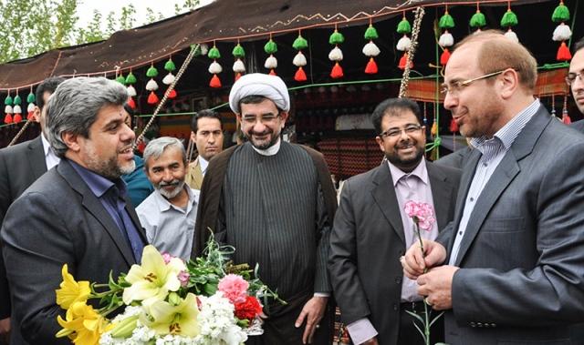 معرض عطر الياسمين في مرقد الامام الخميني قدس سره