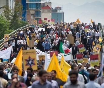 إحياءً ليوم القدس العالمي.. الملايين  يخرجون في مسيرات دعم القضية الفلسطينية