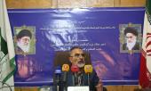 المؤتمر الصحفي لأمين لجنة تكريم ذكرى الامام الخميني قدس سره