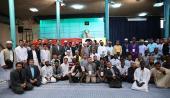 عدد من المشاركين في المسابقات الدولية للقرآن الكريم يزورون جماران