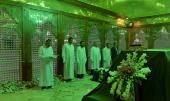 مراسم مسح مرقد الامام الخميني قدس سر