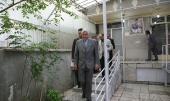 رئيس مؤسسىة آمبودزمان الدولية يزور بيت الامام الخميني في جماران