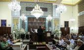 إقامة مراسم ذكرى رحيل الامام الخميني في الكنيسة اليهودية بطهران