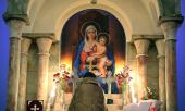 مراسم ذكرى رحيل الامام الخميني في كنيسة سركيس المقدس