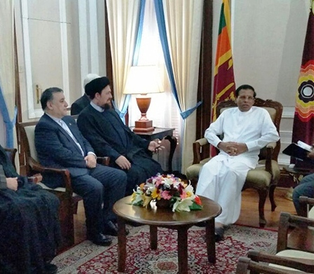 زيارة سماحة آية الله السيد حسن الخميني لسريلانكا و باكستان