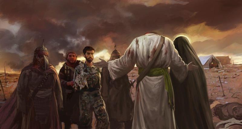 السبيل الوحيد للفلاح في الدنيا والاخرة السير على نهج الشهداء والاهداف السامية التي خطها الامام الخميني