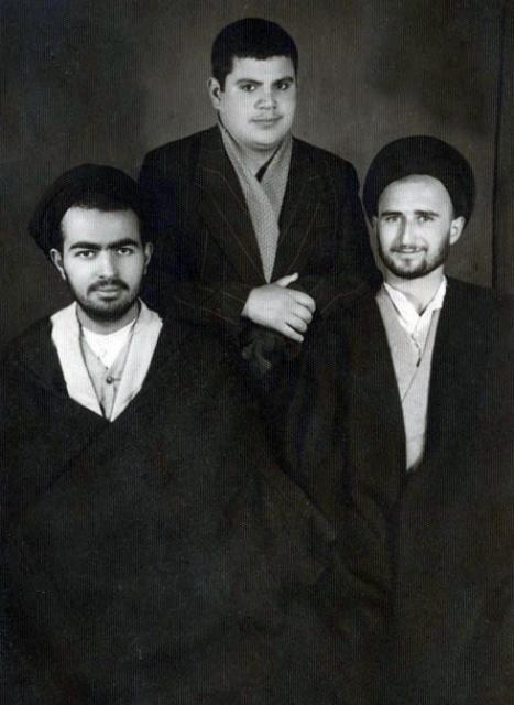صورة تنشر لأول مرة عن السيد مصطفى الخميني