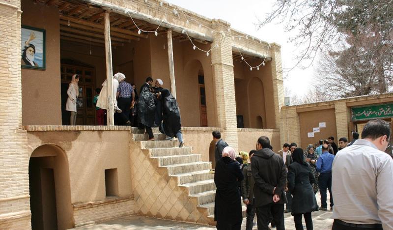 أجواء بيت الامام الخميني في عطلة رأس السنة