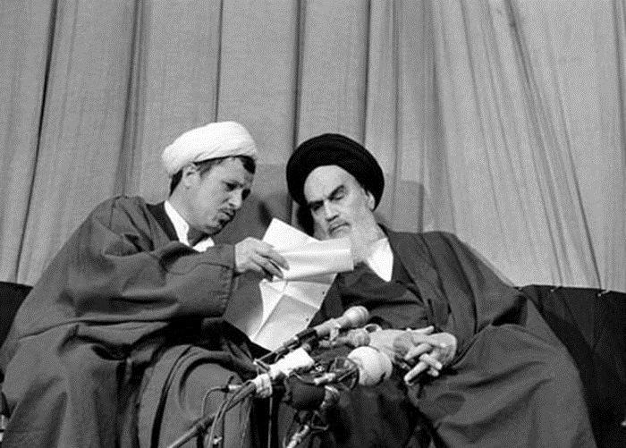 ما الذي قاله الامام الخميني حول الشيخ رفسنجاني؟