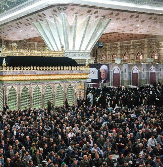 إقامة مراسم مرور أسبوع على رحيل آية الله رفسنجاني في مرقد الإمام الراحل