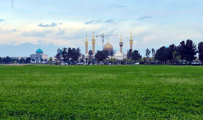يوم الطبيعة في مرقد الامام الخميني قدس سره