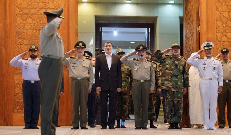 قائد الجيش: سنبذل قصارى جهودنا لتحقيق أهداف الإمام الخميني وشهداء الثورة