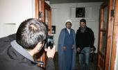 سیاح ايطاليين يزورون بيت الامام الراحل في خمين