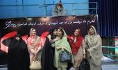 عقیله قائد الجیش الباکستانی تزور جماران