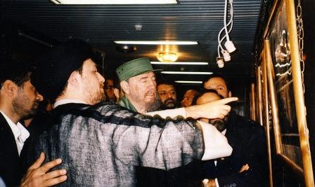 فيدل كاسترو في جماران