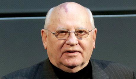 ميخائيل غورباتشوف-زعيم الاتحاد السوفييتي السابق