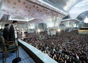 جانب من كلمة الامام الخامنئي خلال مراسم احياء ذكرى رحيل الامام الخميني(2)