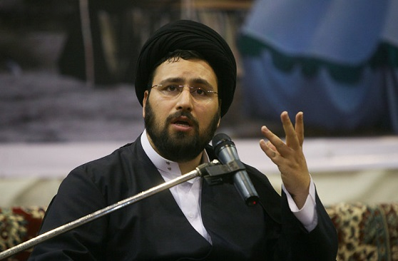 حفيد الامام الخميني (رض) : دعم النظام الاسلامي وقائد الثورة بصلاح الشعب