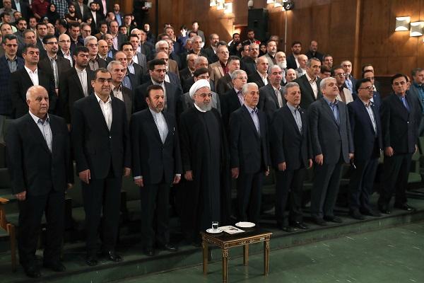 الرئيس روحاني: ادارة ترامب أكثر من سابقاتها حقداً وعداءً لإيران