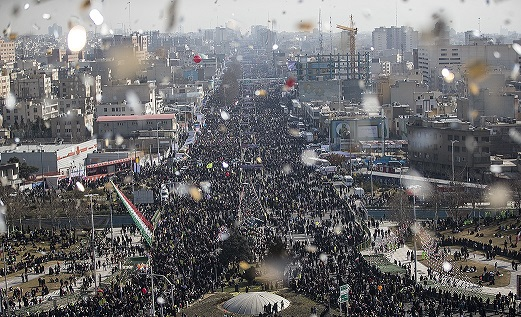 الشعب الايراني يجدد وفاءه لمبادئ الامام الخميني