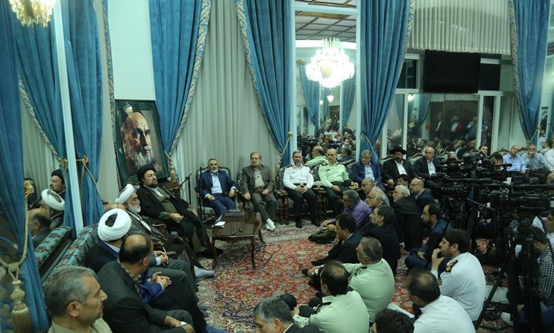 السيد حسن الخميني:نظام الولايات المتحدة جعَلَ جُلّ إهتماماته إلحاق الضرر بالشعب الايراني