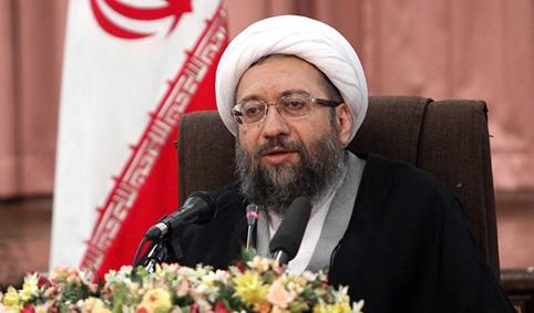 رئیس السلطة القضائیة : الشعب الايراني استطاع ان یحقق نهضة عظیمة بقیادة الإمام الخمینی ضد الطاغوت