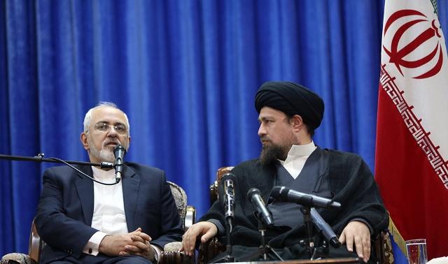 وزیر الخارجیة و سفراء ایران یلتقون السید حسن الخمینی