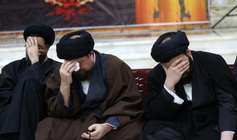 مراسم العزاء فی ذکرى استشهاد السيدة فاطمة الزهراء(س)في مرقد الامام الخمینی